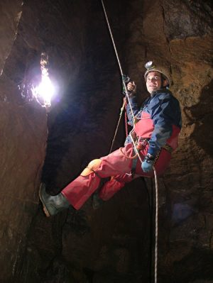 Caving outdoor activities Somerset
