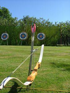 Archery - outdoor activities Somerset