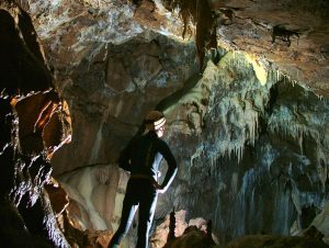 Caving view