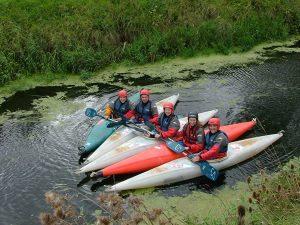 Group of kayaker outdoor activities - Somerset
