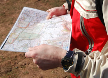 Navigation and hill skills