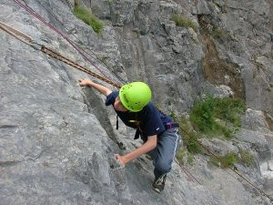Rock climbing - outdoor activities - Somerset