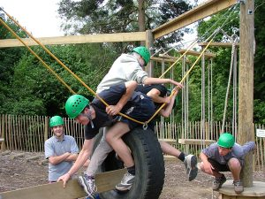 Team building - Low ropes