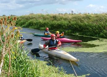 Outdoor activities - kayaking