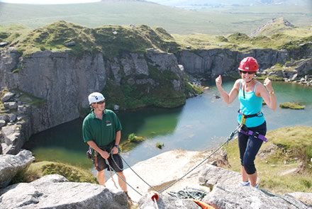 Outdoor adventure - climbing